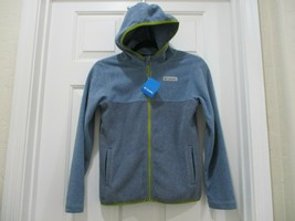 NWT Columbia 2 Tone Blue With Green Accents Kids Size 10-12 - $14.24