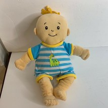 The Manhattan Toy Plush Stuffed Boy Doll Toy In Short Outfit - $17.59