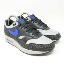 Nike Air Max 1 Se Reflectante 3M Safari Hyper Azul Atmos Gris Atletismo - $144.53