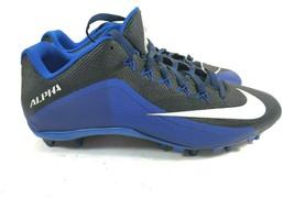 Nike Alpha Pro Low TD Men's Football Cleats Purple/Black Size 15 742767-003 - $29.91