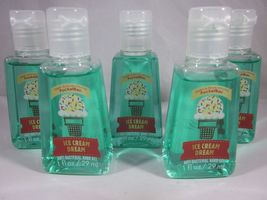 Bath & Body Works PocketBac Hand Sanitizer Set of 5  Ice Cream Dream - $29.99