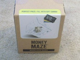 Money Maze Coin Bank-Unlock Gift Cards and Cash! (Factory Sealed Box) - $9.89