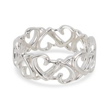 Tiffany & Co. Paloma Picasso Loving Hearts Band in Sterling Silver - $175.00