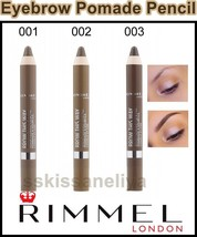 Rimmel Brow This Way Brow Pomade Pencil Fix & Fill 3 Shades - $8.73
