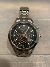 CASIO Edifice Time Piece EF-312 Wrist Watch Japan Mov't Water Resistant  - £85.08 GBP