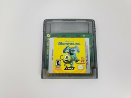 Monsters, Inc. (Nintendo Game Boy Color, 2001) Game Only Tested Works - $6.41 CAD