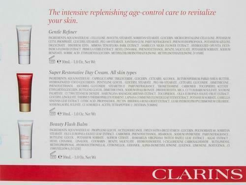 Clarins-From Paris France Womens 3-pc. Restorative 50+ Anti-Aging Skin Care Set