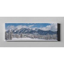 """Colorado Winter Wonderland By Darren White Giclee Canvas Wall Art, 12"""" X... - $136.99"""