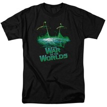 The War of the Worlds t-shirt aliens ship Sci-Fi retro 50's graphic tee PAR122 image 1