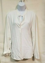 NWOT Prologue White Long Sleeve Blouse Size L - $14.85
