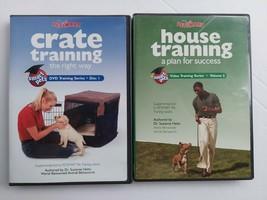 PETSMART PET TRAINING LOT OF 2 DVDS CRATE & HOUSE TRAINING - $5.93