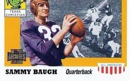 2001 Topps Archives Sammy Baugh Football Trading Card #88 Texas Christian - $1.97