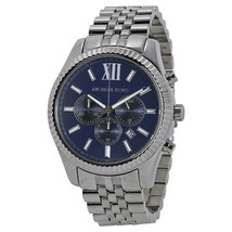 Michael Kors MK8280 Lexington Chronograph Blue Dial Men's Watch - $156.79