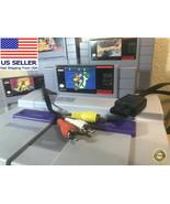 SNES Composite Video AV Cable / RCA Cord  90-day Warranty! - $6.29