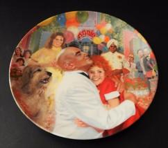 Annie Daddy Warbuck Musical William Chamber Bradford Exchange Knowles Pl... - $24.74