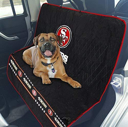 86298c9f2c00 Pets First NFL CAR SEAT Cover - SAN Francisco 49ERS Waterproof