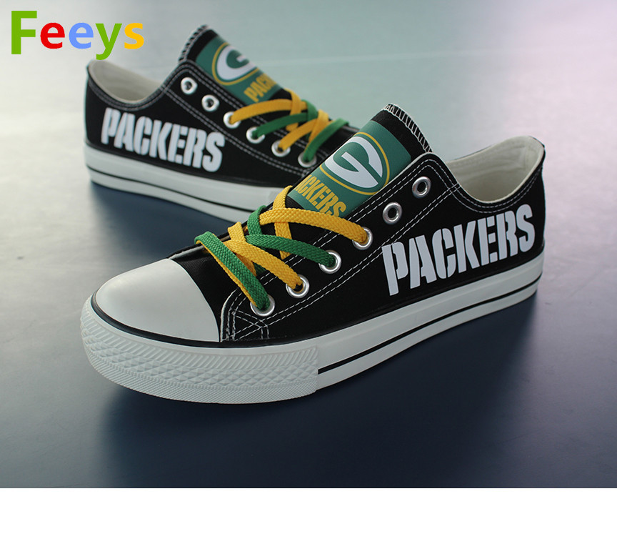 Green Bay Packers shoes Packers sneakers Fashion Christmas gift birthday gift s1 for sale  USA