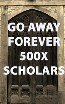 100x STOP THEM FOREVER GO AWAY CEREMONY BLESSING COVEN  SCHOLAR MAGICK  - $39.91