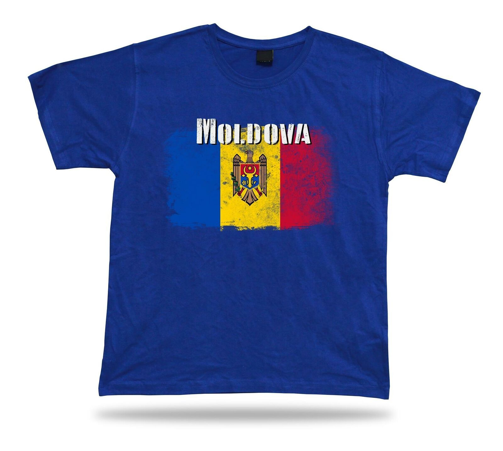 Primary image for Moldova flag Tshirt T-shirt Tee top city map king of the skies crossed eagle
