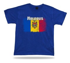Moldova flag Tshirt T-shirt Tee top city map king of the skies crossed e... - $7.57