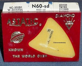 ASTATIC N60-sd  NEEDLE for Astatic 131 133 Astatic 136 137 for 164-SS73 Sears image 1