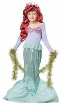 Little Mermaid Dress Up Play Child LARGE PLUS 12 - 14 Halloween Costume - $35.63