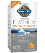 Garden of Life : Platinum Omega - 3 Fish Oil - 30 Softgels (Orange) - $19.99