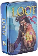 Gamewright Loot Deluxe Tin - The Plundering Pirate Card Game Card Game M... - $9.29