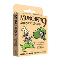 Steve Jackson Games SJG1570 Munchkin Jurassic Snark 9 Games - $16.08