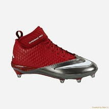 NIKE Men's Lunar Super Bad Pro D PF Football Cleats Size 13.5 NEW FREE S... - $10.18