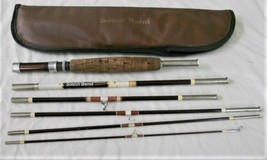 South Bend Fly Rod Custom 370 6 Piece with Case Vtg Fishing Pole - $28.60