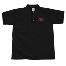 San Francisco t-shirt / 49ers t-shirt / Embroidered Polo Shirt image 3