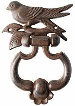 Esschert Design USA BR15 Cast Iron Bird Silhouette Door Knocker - $8.90
