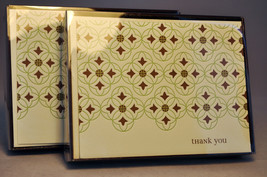 Hallmark: Thank You Notes - 2 Packs of 10 Count Each - Contemporary -TYN422 - $11.61