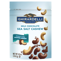 Ghirardelli Chocolate® Milk Chocolate Sea Salt Roasted Cashews, 4.8 oz - $11.83