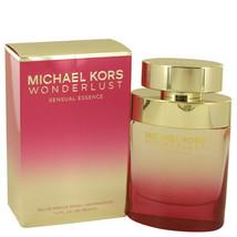Wonderlust Sensual Essence by Michael Kors Eau De Parfum Spray 3.4 oz for Women - $111.15