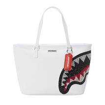 Sprayground Trinity Crystal Tote Bag White - $113.07