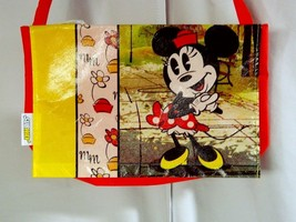 Disney Minnie Mouse Red Messenger Lunch Bag Pur... - $5.00