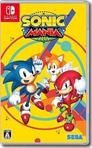 SEGA Nintendo Switch SONIC MANIA PLUS Limited Box w/Soundtrack 2 From japan - $86.63