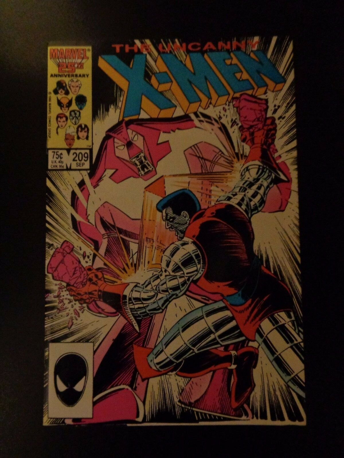 Uncanny X-MEN #209 1986 Marvel Comic Book NM (9.2) Condition Wolverine CLAREMONT