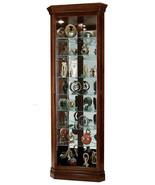 Howard Miller 680-483 (680483) Drake Lighted Curio Cabinet - Cherry Bord... - $857.50