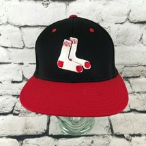 Boston Red Sox Mens Sz S-M Hat Red Black 2-Tone Flexfit Richardson Baseb... - $14.84