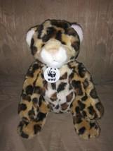 "Build A Bear Workshop WWF Cheetah Leopard Plush 12"" World Wildlife Fund 2002... - $26.72"