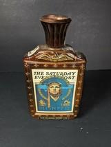 Vintage 1976 Jim Beam Saturday Evening Post Bicentennial Pilot  Bottle - 120BS - $9.49