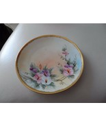 "Beautiful 6.5"" dessert plate hand painted stamped Bavaria - $12.00"