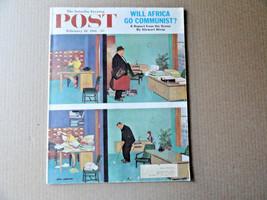 Saturday Evening Post Magazine February 18 1961 Complete - $9.99