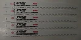 "Vermont American 30540 Xtend 8"" Recip Blades For Wood 5pcs Bulk Swiss - $4.95"