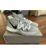 "Nike Kyrie 5 TB ""Wolf Grey"" Basketball Shoes CN9519-001 Men's Size 14 - $91.01"