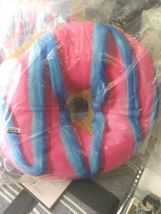 2 Scoops Scented Micro Bead Pillow Plush Blue Pink Classic Sprinkle Donut NWT image 5