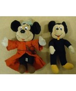 Disney Mickey Mouse Dolls Qty 2 Great Deal - $35.76